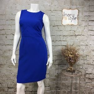 Banana Republic Meditt Blue Sleeveless Dress 2